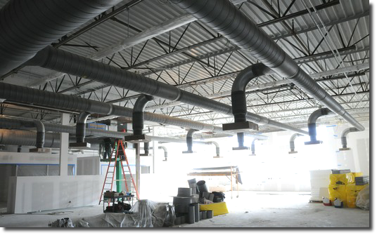 Standard or custom duct work is a specialty at Universal for all of North Central Ohio.