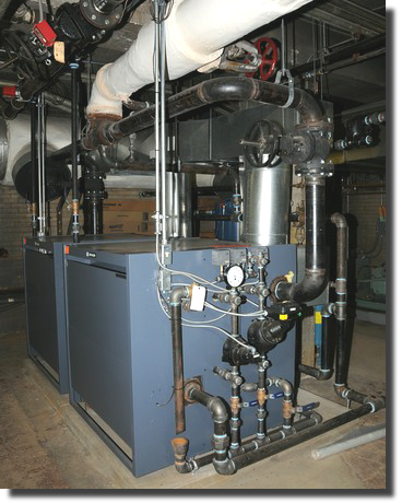 Universal is certified to install and maintain boilers in Ohio.